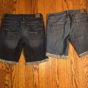 American Eagle Outfitters jean short set
